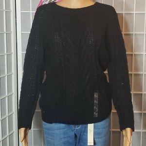 Joe fresh sweater women's New Size S BLACK